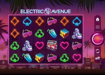 Electric Avenue - Video Slot Game - Golden Tiger Casino
