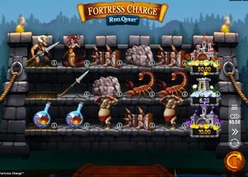 Fortress Charge - Video Slot Game - Golden Tiger Casino
