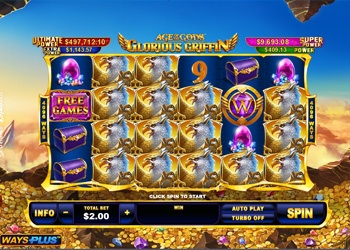 Glorious Griffins - Video Slot Game - Sports Interaction Casino