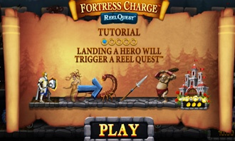 Fortress Charge - Video Slot Game