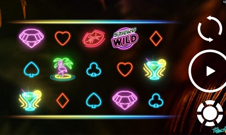 Miami Glow Video Slot Game