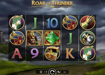 Roar of Thunder - Captain Cooks Casino