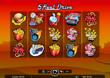 5 Reel Drive - Video Slot Game