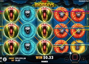7 Monkeys - Video Slot Game