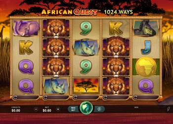 African Quest - Video Slot Game