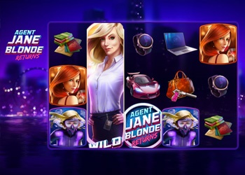 Agent Jane Blonde Returns - Video Slot Game