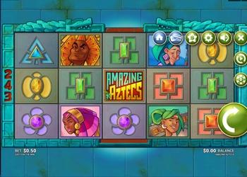 Amazing Aztecs - Video Slot Game