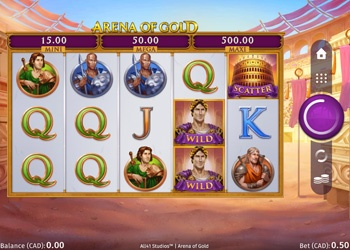 Arena of Gold - Video Slot Game