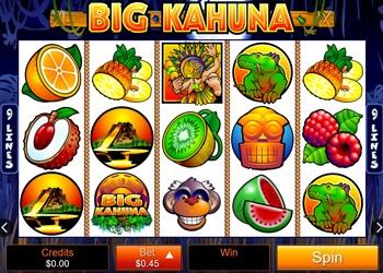 Big Kahuna - Video Slot Game