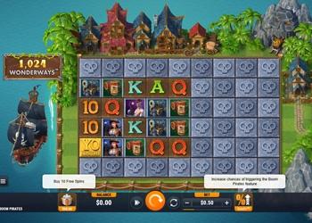 Boom Pirates - Video Slot Game