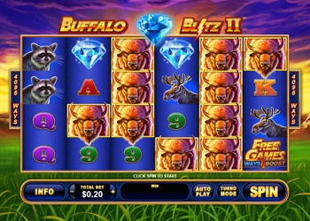 Buffalo Blitz II - Video Slot Game