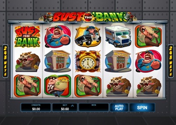 Bust The Bank - Video Slot Game
