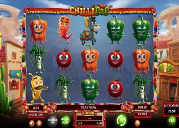 Chilli Pop - Video Slot Game