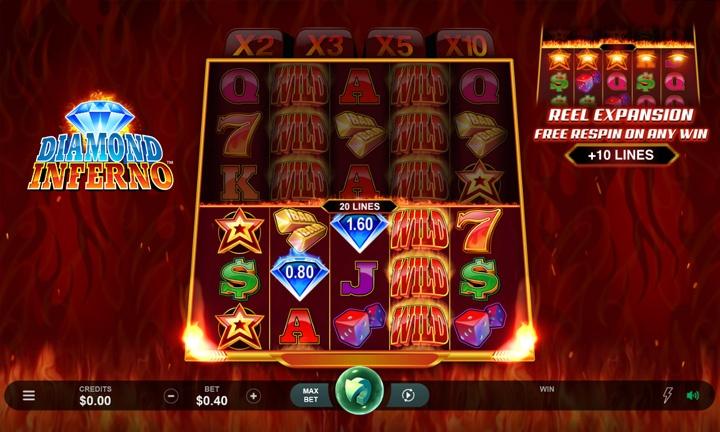 Diamond Inferno - Video Slot