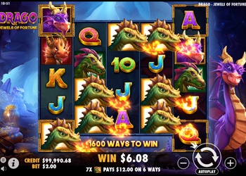Drago Jewels of Fortune - Video Slot Game