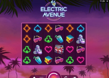 Electric Avenue - Video Slot Game