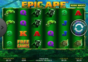Epic Ape - Video Slot Game