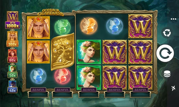 Goldaur Guardians - Video Slot