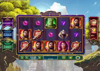 Legend of Elvenstone - Video Slot Game