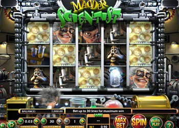 Madder Scientist - Video Slot Game