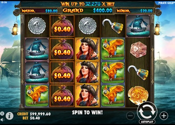 Pirate Gold - Video Slot Game