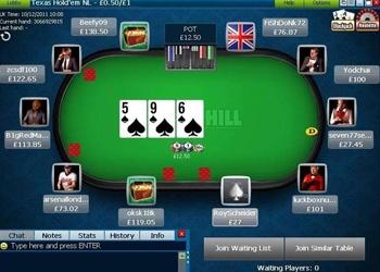 Poker Table - William Hill Poker