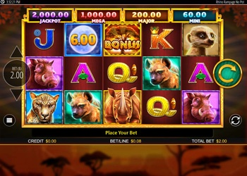 Rhino Rampage - Video Slot Game