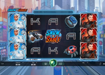 Snow and Sable - Video Slot Game