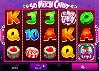 So Much Candy - Video Slot Game