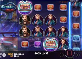 Street Racer - Video Slot Game