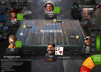 Table - Unibet Poker