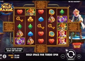 The Wild Machine - Video Slot Game