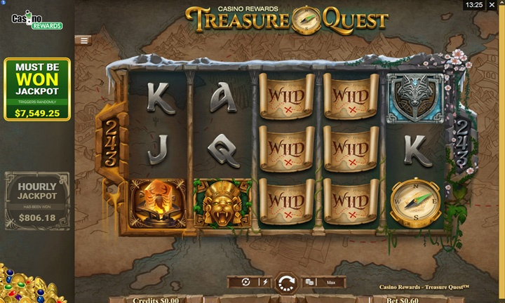 Treasure Quest - Video Slot