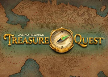 Treasure Quest - Logo - Video Slot