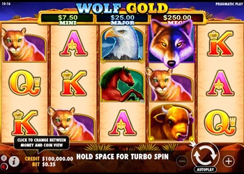 Wolf Gold - Video Slot Game