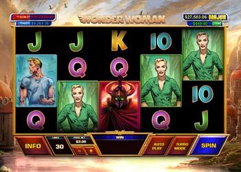Wonder Woman - Video Slot Game