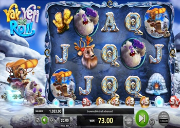 Yak Yeti and Roll - Video Slot Game