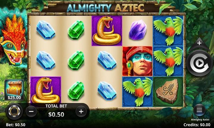 Almighty Aztec - Video Slot