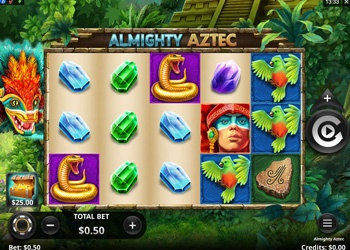 Almighty Aztec - Video Slot Game