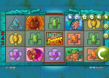 Amazing Aztecs - Video Slot Game
