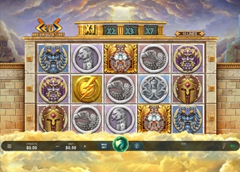 Ancient Fortunes Zeus - Video Slot Game