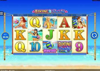 Bikini Party - Video Slot Game