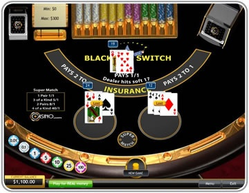 Blackjack Switch Game