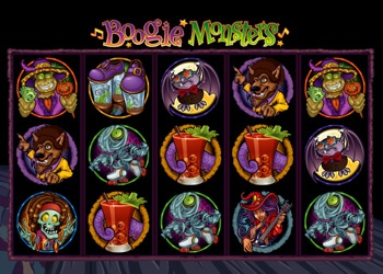 Boogie Monsters - Video Slot Game