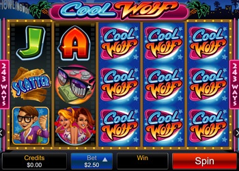 Cool Wolf- Video Slot Game