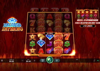 Diamond Inferno - Video Slot Game