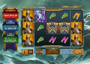 Gods and Giants - Video Slot Game