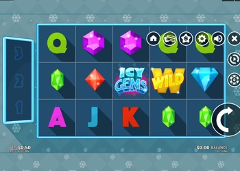 Icy Gems - Video Slot Game