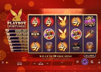 Playboy Fortunes - Video Slot Game