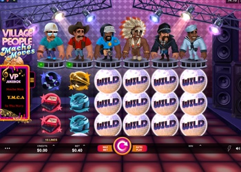 Village People - Macho Moves - Video Slot Game